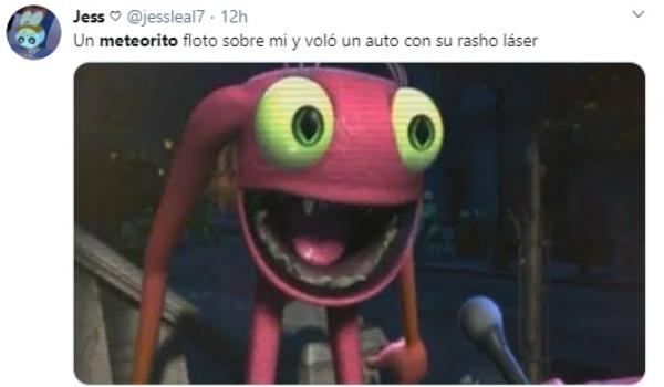 meme Meteorito México, Monterrey, fotos videos