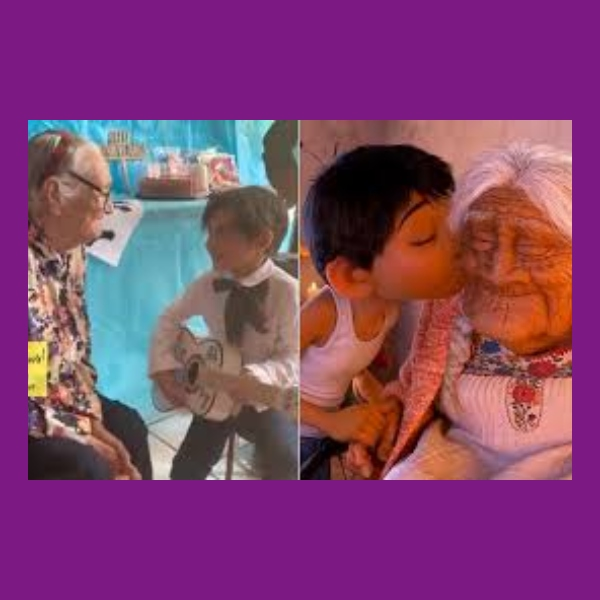 nino le acnta a su abuelita recuerdame igual que en la pelicula coco