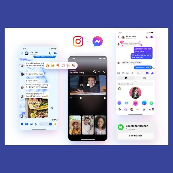 nuevo facebook messenger con instagram