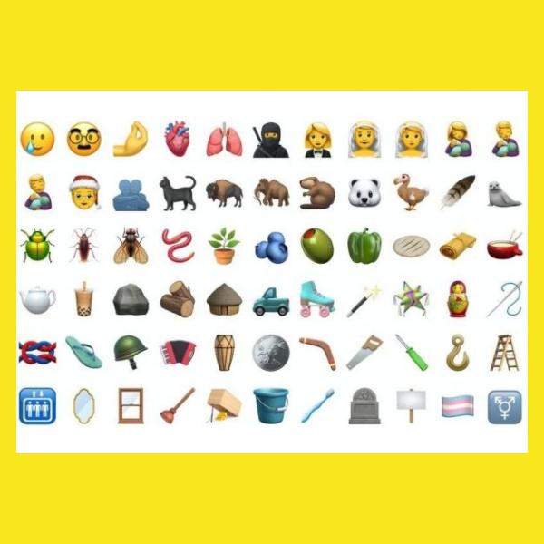 nuevos emojis que llegan a iOS 14.2