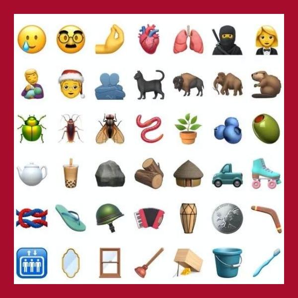 nuevos emojis para iphone