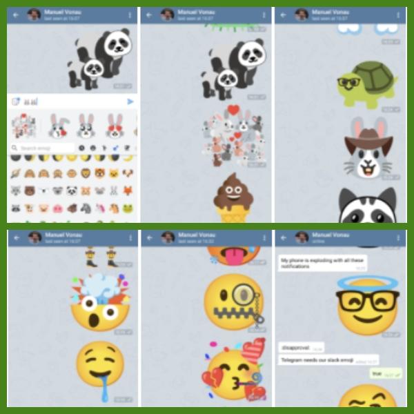 combinación de emojis en gboard