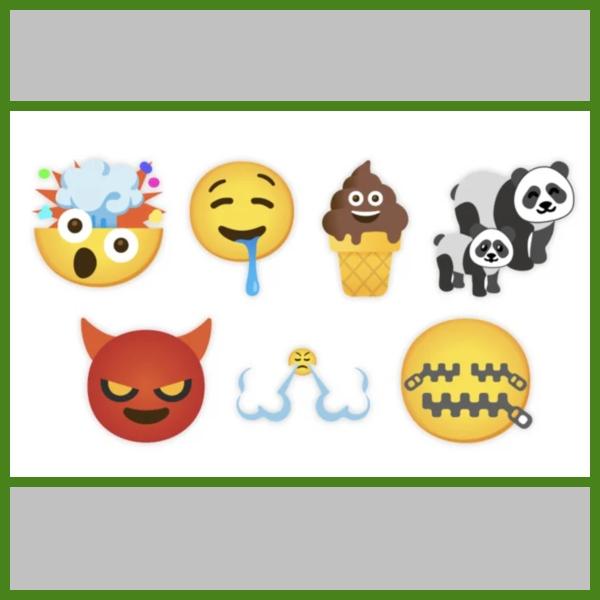 nuevos stickers emojis de google