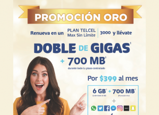 Promoción Oro