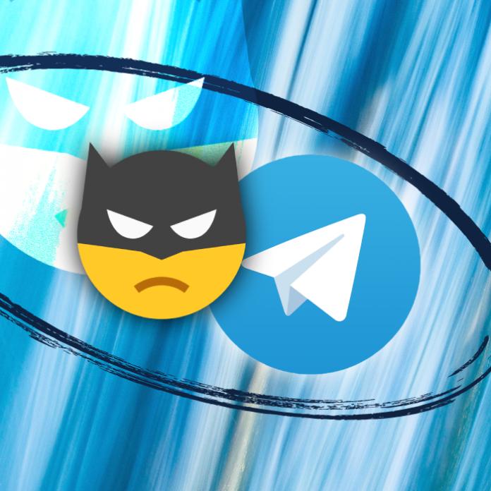 Como activar el modo batman de telegram