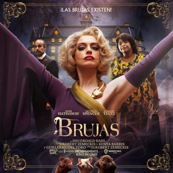 Anne Hathaway Gran Bruja The Witches Las Brujas
