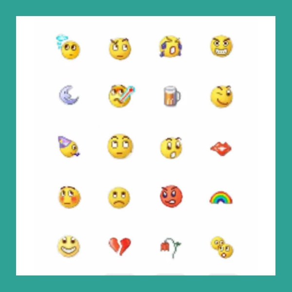 truco para obtener los clasicos emojis de msn messenger en whatsapp