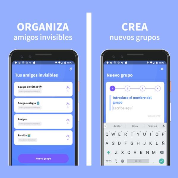 App Amigo Secreto 22 Google Play