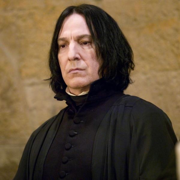 Alan Rickman Severus Snape Harry Potter