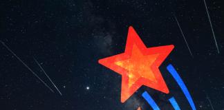 Estrella cielo de noche fenómenos astronómicos noviembre