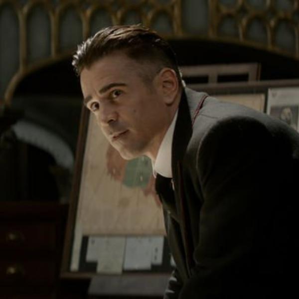 Colin Farrell como Gellert Grindelwald