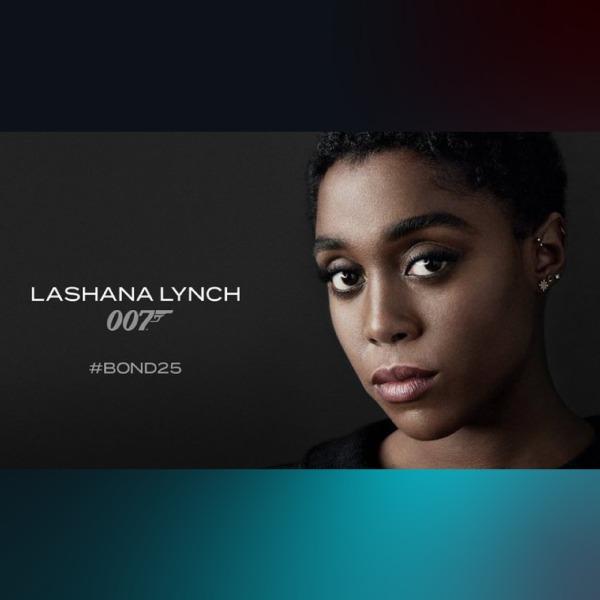Lashana Lynch será la nueva agente 007
