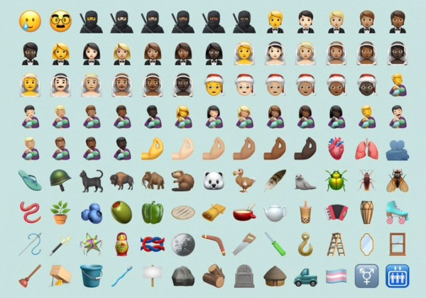 100 nuevos emojis que llegan a iOS iPhone