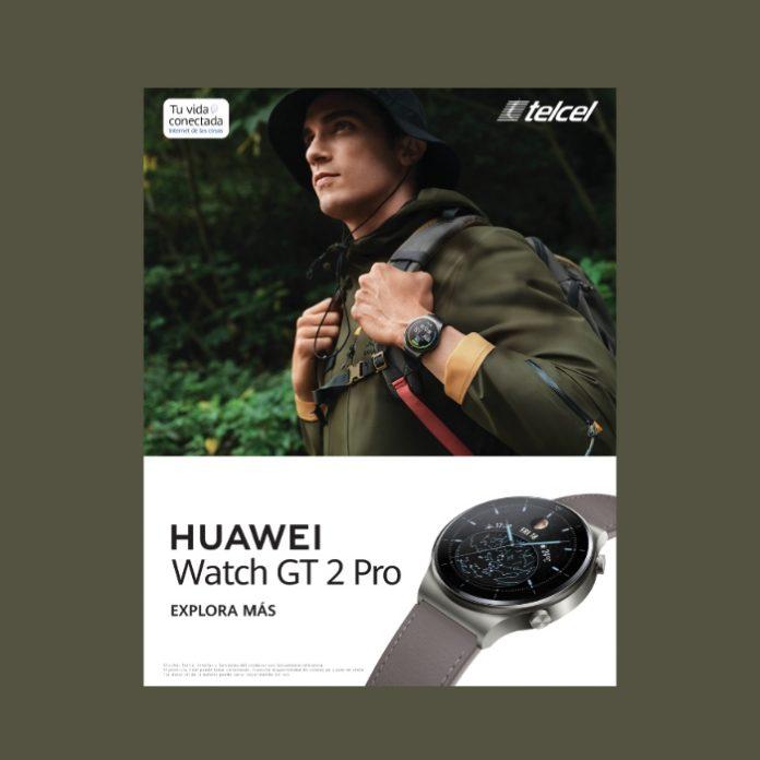 asi es el Huawei Watch GT 2 Pro