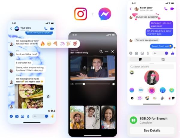 Nuevas funciones mensajería instantánea Facebook y Messenger