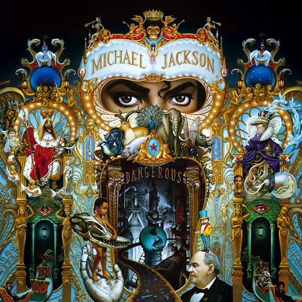 Portada disco Dangerous 1991