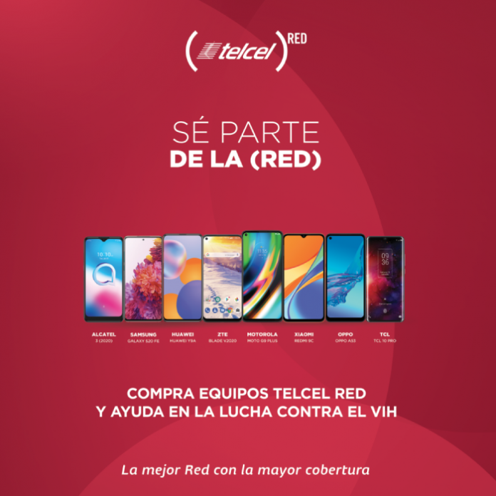 Campaña Telcel RED teléfonos participantes