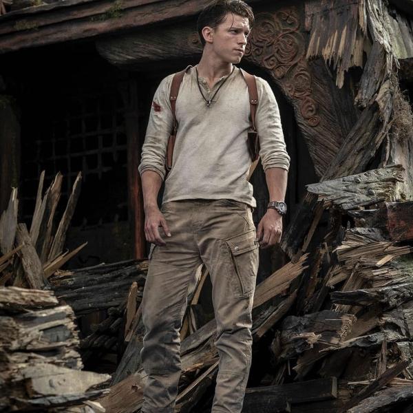 Primera foto de Tom Holland como Nathan Drake en Uncharted