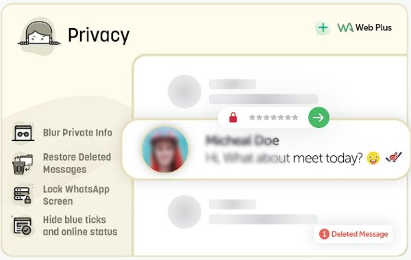 WA Web Plus for WhatsApp y su función para mayor privacidad