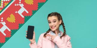 Ideas de teléfonos para regalar en Navidad