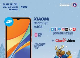 Planes para Navidad Telcel Xiaomi