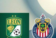 León VS Chivas partido transmisión en vivo