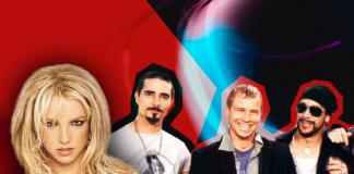 Britney Spears Matches Backstreet Boys