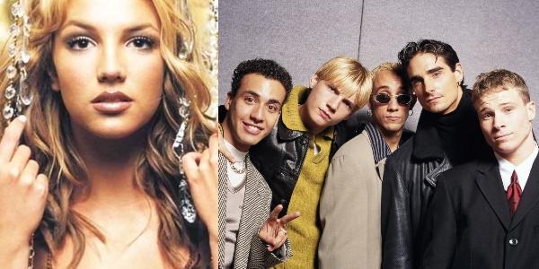 Britney Spears y los Backstreet Boys colaboración