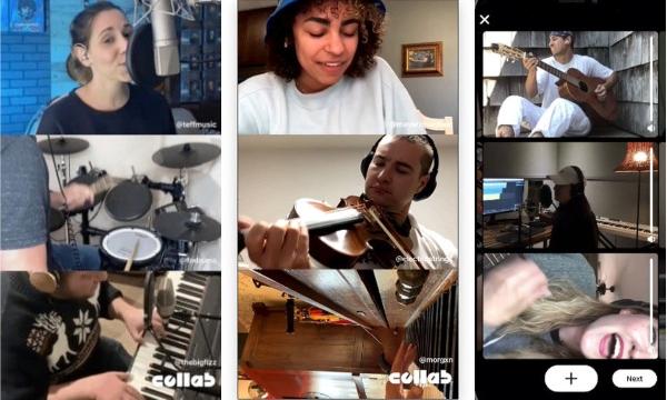 Así es como funcionará Collab, la nueva app de Facebook para músicos