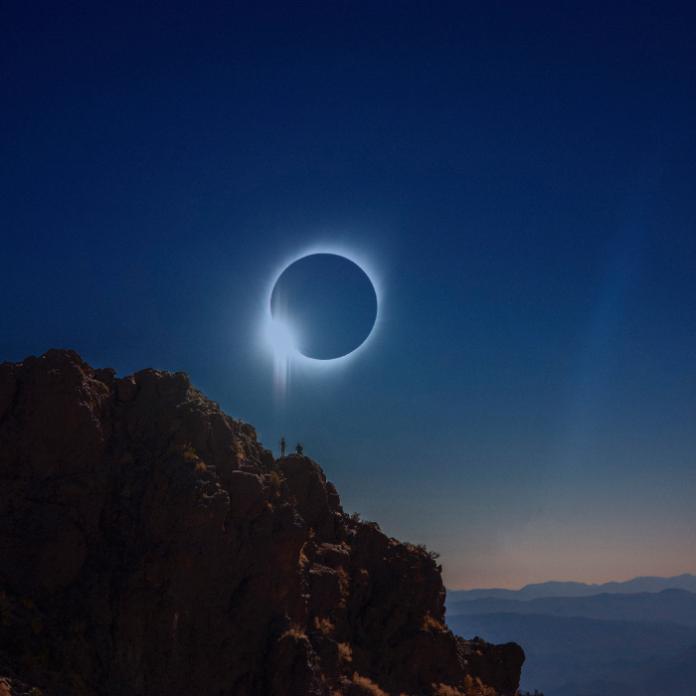 donde ver el eclipse solar en México