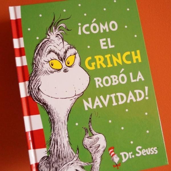 El Grinch cuento original en blanco y negro
