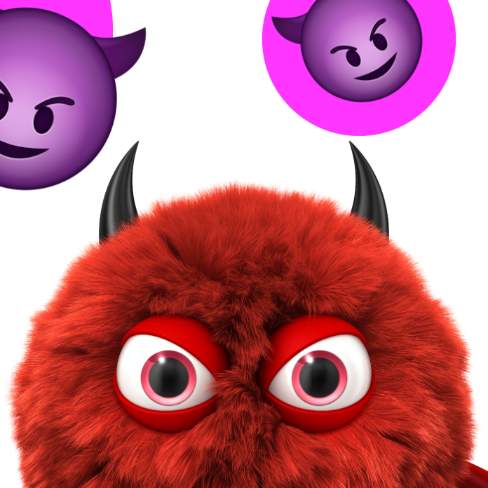 Significado emojis diablito WhatsApp
