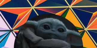 Baby Yoda 3D en Google realidad aumentada