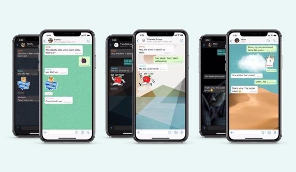 Fondos de pantalla personalizados WhatsApp