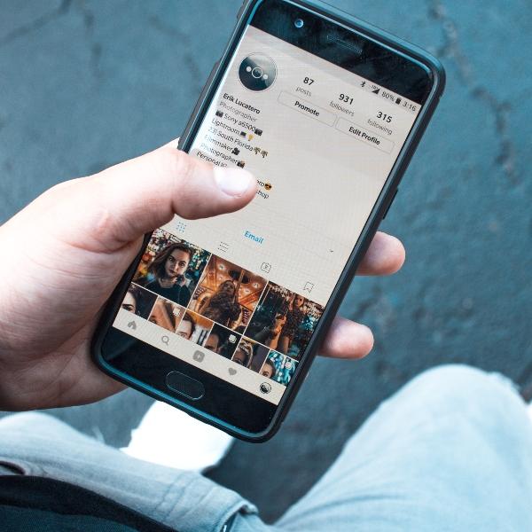 Instagram perfil historias