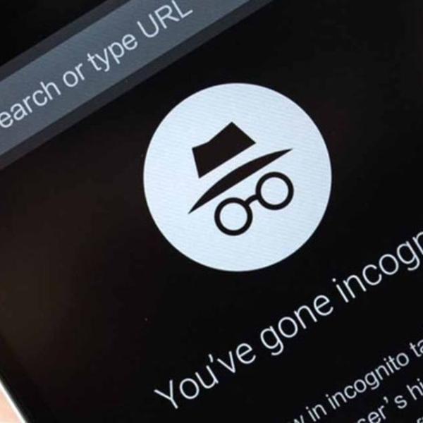 Buscador de Google modo incógnito