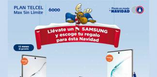 Samsung promoción Telcel