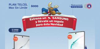 Samsung Galaxy promoción Telcel