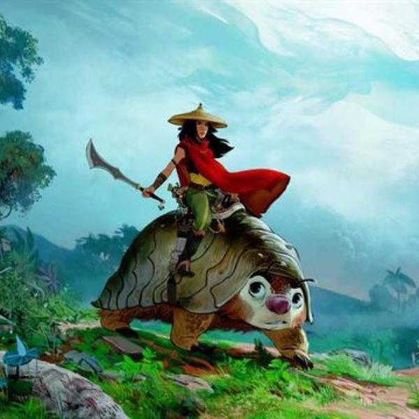 Raya y el último dragón de Disney estrenos