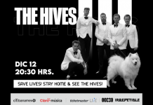 concierto the hives