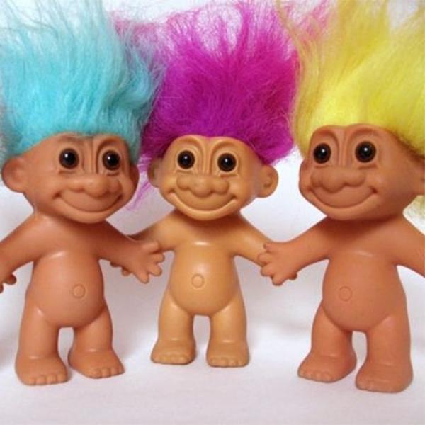 Juguetes trolls de los 90