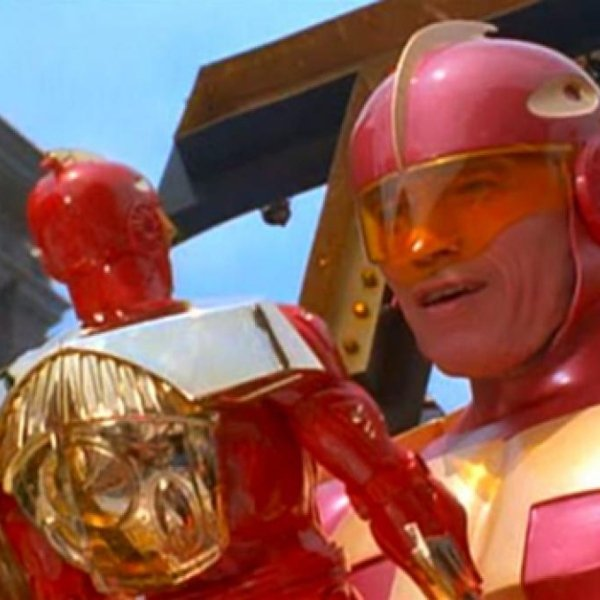 Turboman juguete película Arnold Schwarzenegger