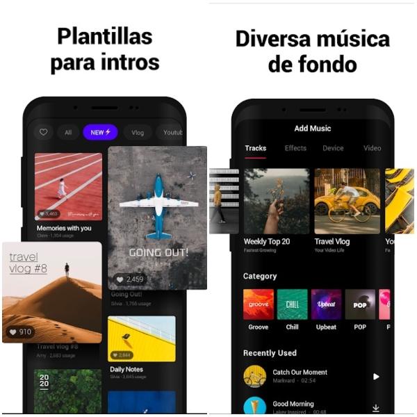 VITA app de edición, entre las mejores de Android Google Play