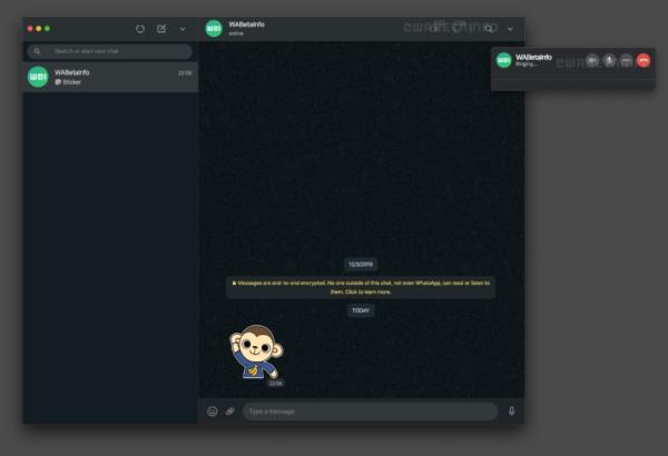 Nueva función WhatsApp Web videollamadas