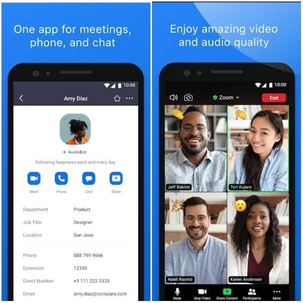 Zoom Cloud Meeting entre las mejores apps de Android