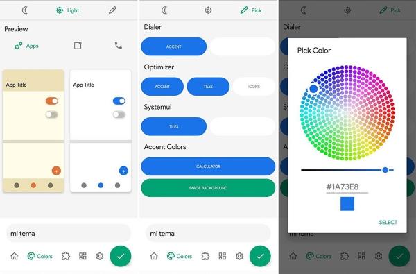Android 12 nuevos temas colores aplicaciones