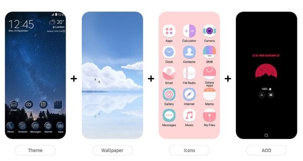 Colores Android 12 aplicaciones