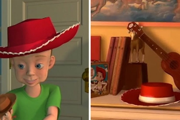 Andy sombrero mamá Jessie Pixar