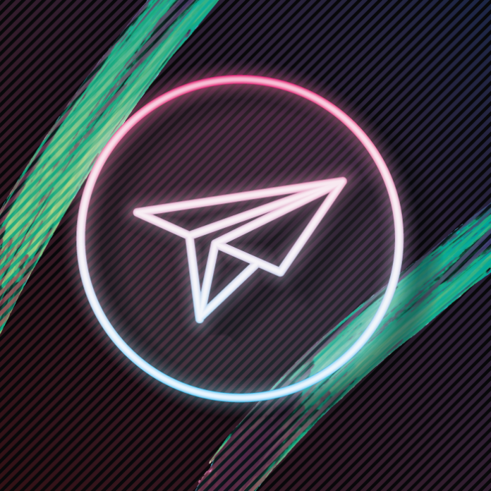 Telegram logo colores