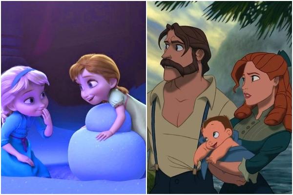 Teoría Tarzán y Frozen Disney